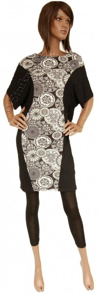 SUMMER JERSEY DRESSES WITH SHORT SLEEVES AB-BMS05D - Oriente Import S.r.l.