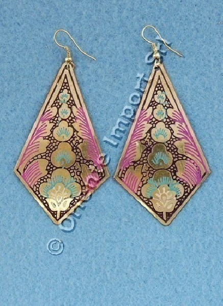 EARRINGS - METAL MB-ORC01-07 - Oriente Import S.r.l.