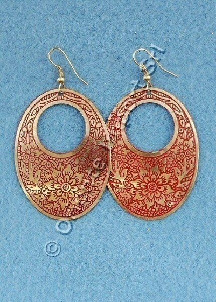 EARRINGS - METAL MB-ORC02-02 - Oriente Import S.r.l.