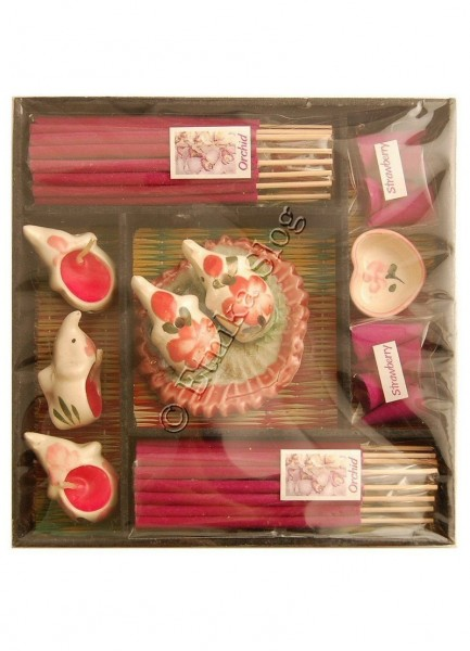 INCENSI SET - CONFEZIONE REGALO INC-1SET12 - Oriente Import S.r.l.