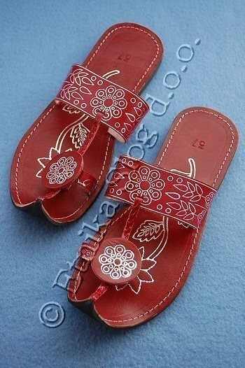 SANDALS IN LEATHER SN-F03-01 - Oriente Import S.r.l.