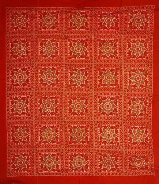 COPRILETTO TELI INDIANI GRANDI TI-RI03-02 - Oriente Import S.r.l.