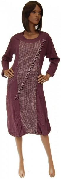 DRESSES COTTON LONG SLEEVE AB-TVC01 - Oriente Import S.r.l.