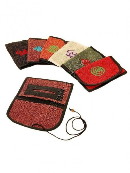 HEMP WALLETS, COIN PURSES AF-PT09 - Oriente Import S.r.l.