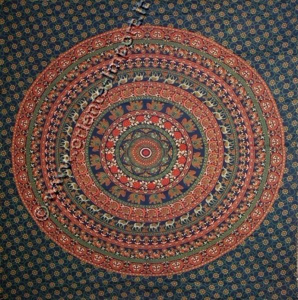 COPRILETTO TELI INDIANI GRANDI TI-G01-38 - Oriente Import S.r.l.