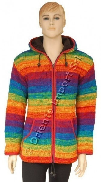 -10% WOOLEN JACKETS, PONCHOS AND SWEATERS AB-GL21-RA - Oriente Import S.r.l.