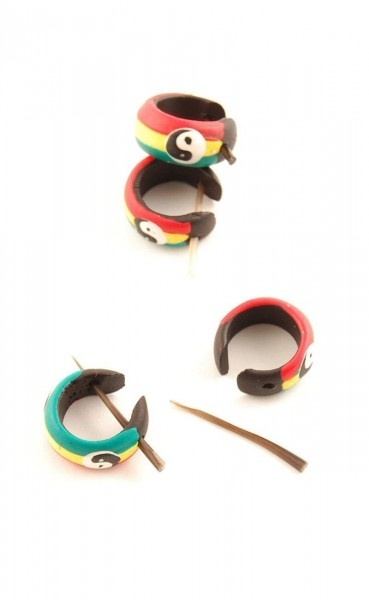 WOODEN EARRINGS LE-CC04-02 - com Etnika Slog d.o.o.