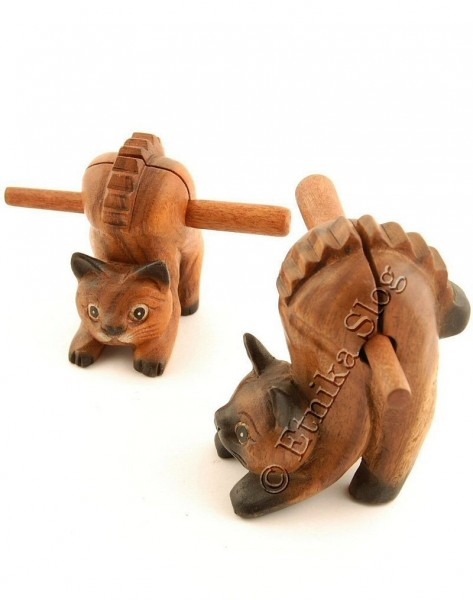 WOODEN ANIMAL FIGURES GI-FARC18-19 - Oriente Import S.r.l.