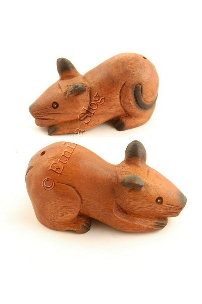 WOODEN ANIMAL FIGURES GI-FARC21 - Oriente Import S.r.l.