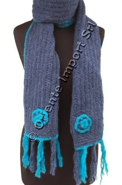 WOOL SCARVES AB-SCL23 - Oriente Import S.r.l.