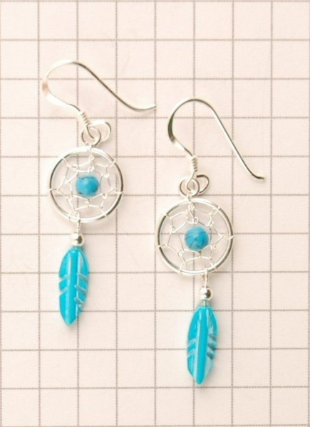 DREAMCATCHER EARRINGS ARG-1OR350-03 - Oriente Import S.r.l.