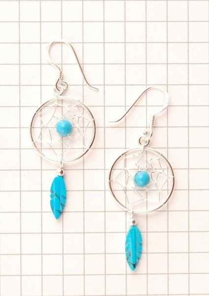 DREAMCATCHER EARRINGS ARG-1OR460-03 - Oriente Import S.r.l.