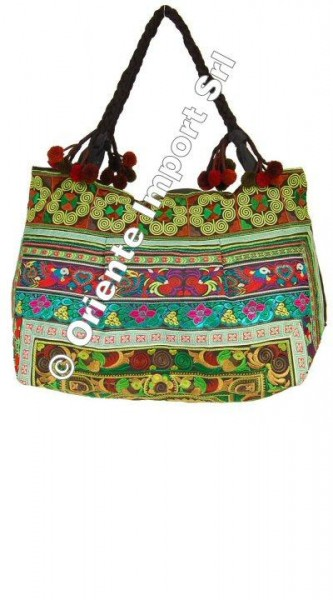 EMBROIDERED SHOULDER BAGS BS-THD11-01 - Oriente Import S.r.l.