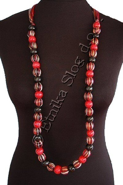 MIXED MATERIALS NECKLACES CL-TH02 - Oriente Import S.r.l.