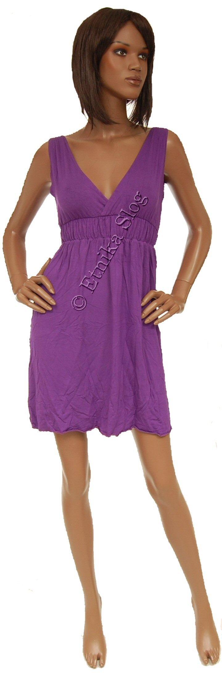 UNICOLOR JERSEY SUMMER DRESSES AB-THVS24 - Oriente Import S.r.l.