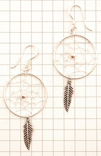 DREAMCATCHER EARRINGS ARG-1OR520-02 - Oriente Import S.r.l.