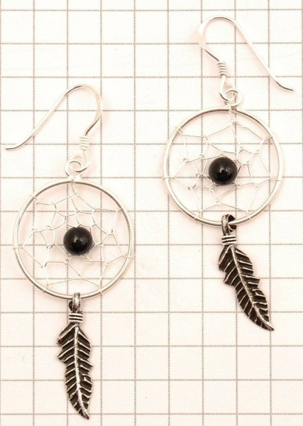 DREAMCATCHER EARRINGS ARG-1OR460-06 - Oriente Import S.r.l.