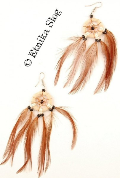 MIXED MATERIALS EARRINGS BG-OR03 - Oriente Import S.r.l.