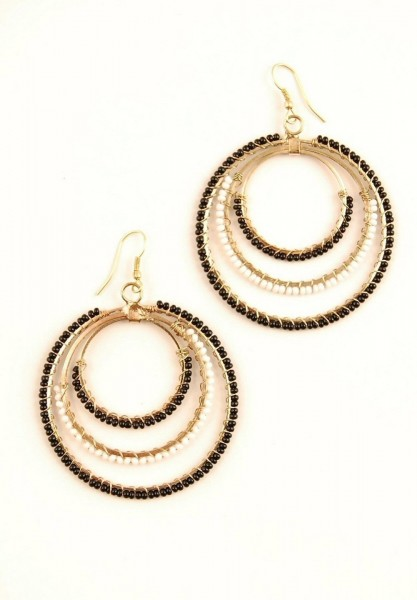 EARRINGS - METAL MB-OR42-ORO - Oriente Import S.r.l.