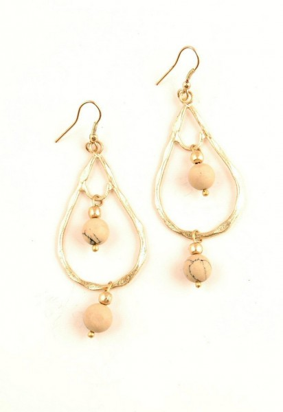 EARRINGS - METAL MB-OR44-ORO - Etnika Slog d.o.o.