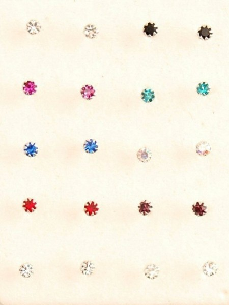 MINI EARRINGS AND NOSE RINGS - SEPTUM ARG-NA060-02 - Oriente Import S.r.l.