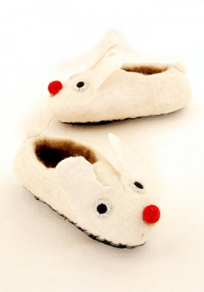 WOOL FELT SMALL SHOES LC-SC13 - Oriente Import S.r.l.