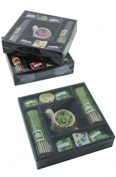 INCENSI SET - CONFEZIONE REGALO INC-1SET14-01 - Oriente Import S.r.l.