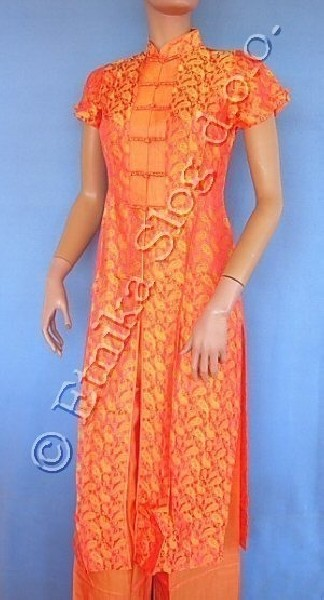 SILK AND MIXTURE SILK DRESSES - AO DAI AB-ADMC01 - Oriente Import S.r.l.