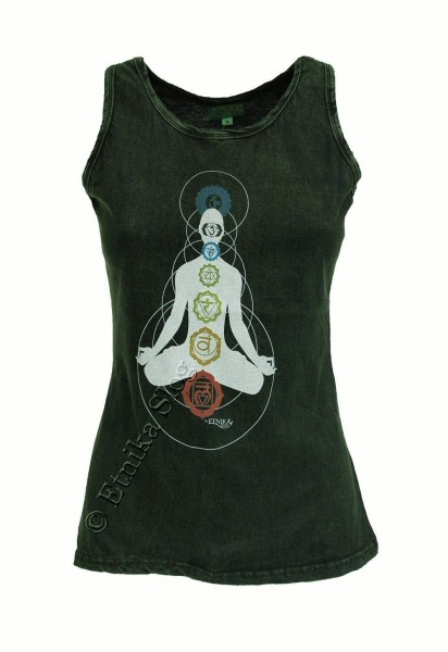 COTTON TANK TOPS - STONEWASHED WITH PRINT AB-NPM04-05 - Oriente Import S.r.l.