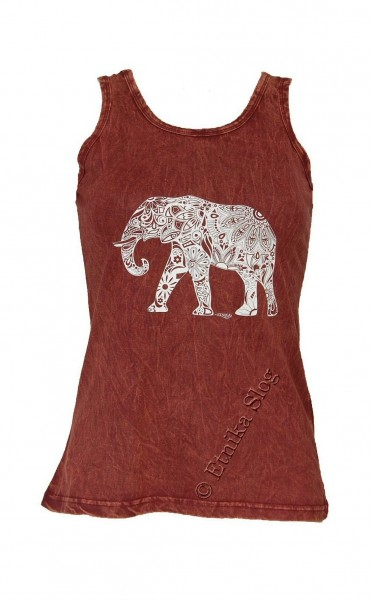 COTTON TANK TOPS - STONEWASHED WITH PRINT AB-NPM04-13B - Oriente Import S.r.l.