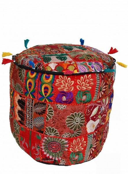 INDIAN PILLOWS POUF CS-GA01 - Oriente Import S.r.l.