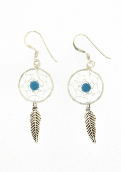 DREAMCATCHER EARRINGS ARG-1OR390-02 - Oriente Import S.r.l.