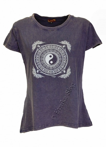 WOMEN T-SHIRT AND TOP WITH PRINTS AB-NPM03-20B - Oriente Import S.r.l.