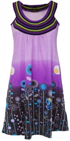 SUMMER SLEEVELESS JERSEY DRESSES AB-MRS005-P1 - Oriente Import S.r.l.