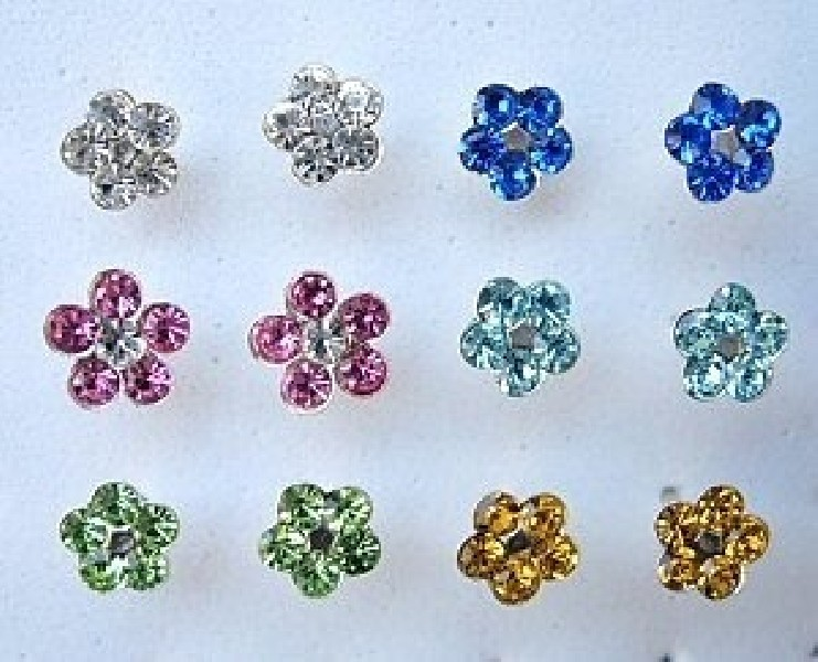 MINI EARRINGS AND NOSE RINGS - SEPTUM ARG-OR023 - Oriente Import S.r.l.