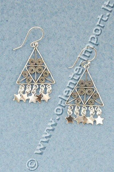 ORECCHINI CON FIGURA - CELTICI ARG-ORD07-04 - Oriente Import S.r.l.