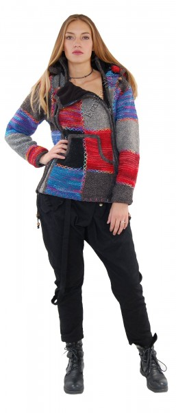 WOOLEN JACKETS, PONCHOS AND SWEATERS AB-GL38 - Oriente Import S.r.l.
