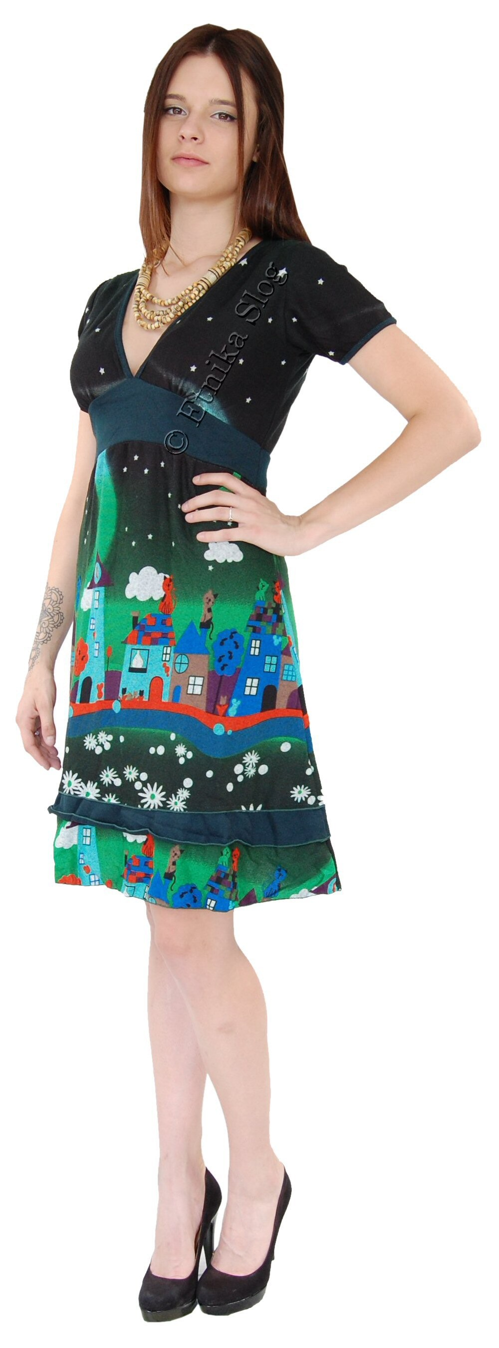 SLEEVELESS DRESSES - AUTUMN/WINTER AB-MRS117AJ - com Etnika Slog d.o.o.