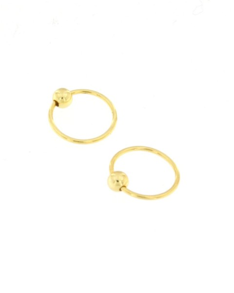 MINI EARRINGS AND NOSE RINGS - SEPTUM ARG-1OR180-04 - Oriente Import S.r.l.