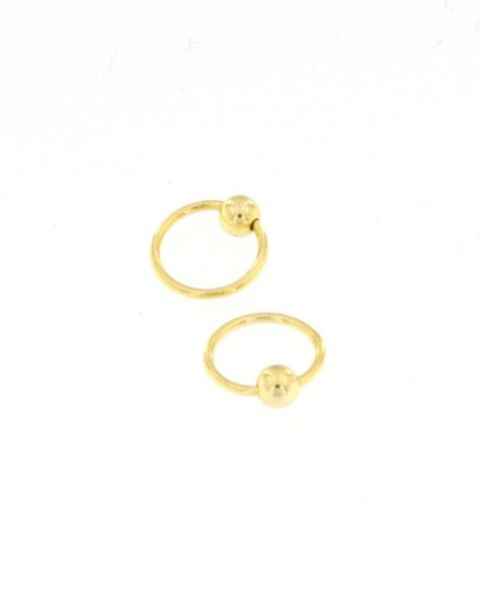 MINI EARRINGS AND NOSE RINGS - SEPTUM ARG-1OR160-06 - Oriente Import S.r.l.