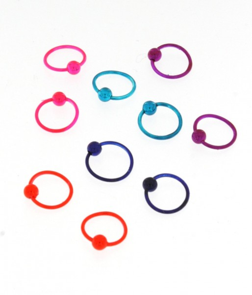 MINI EARRINGS AND NOSE RINGS - SEPTUM ARG-1OR140-07 - Oriente Import S.r.l.