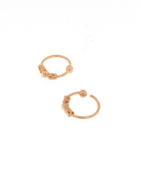 MINI EARRINGS AND NOSE RINGS - SEPTUM ARG-1OR180-07 - Oriente Import S.r.l.