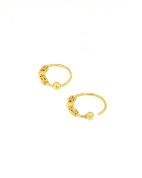 MINI EARRINGS AND NOSE RINGS - SEPTUM ARG-1OR180-06 - Oriente Import S.r.l.