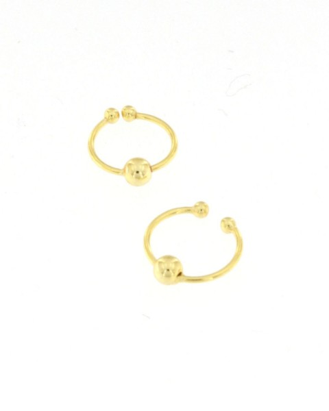 MINI EARRINGS AND NOSE RINGS - SEPTUM ARG-1OR220-05 - Oriente Import S.r.l.