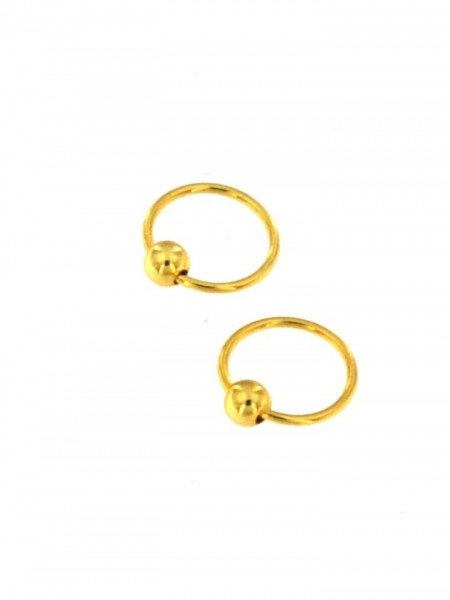 MINI EARRINGS AND NOSE RINGS - SEPTUM ARG-1OR160-04 - Oriente Import S.r.l.
