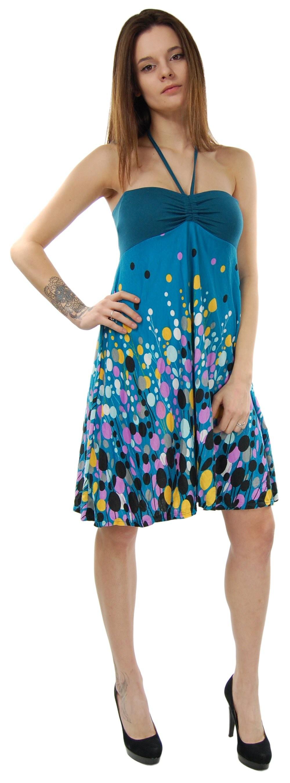 SUMMER SLEEVELESS JERSEY DRESSES AB-MRS059-F3 - Oriente Import S.r.l.