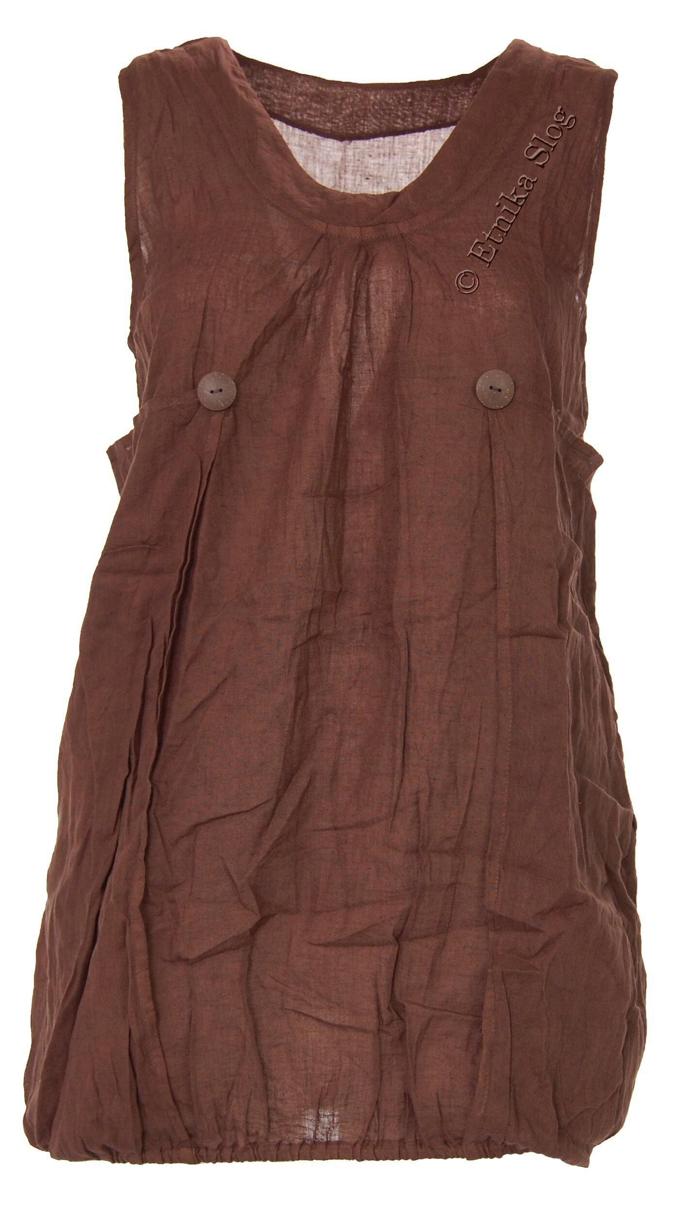 SHORT SLEEVE AND SLEEVELESS COTTON DRESSES AB-AJV10 - Oriente Import S.r.l.