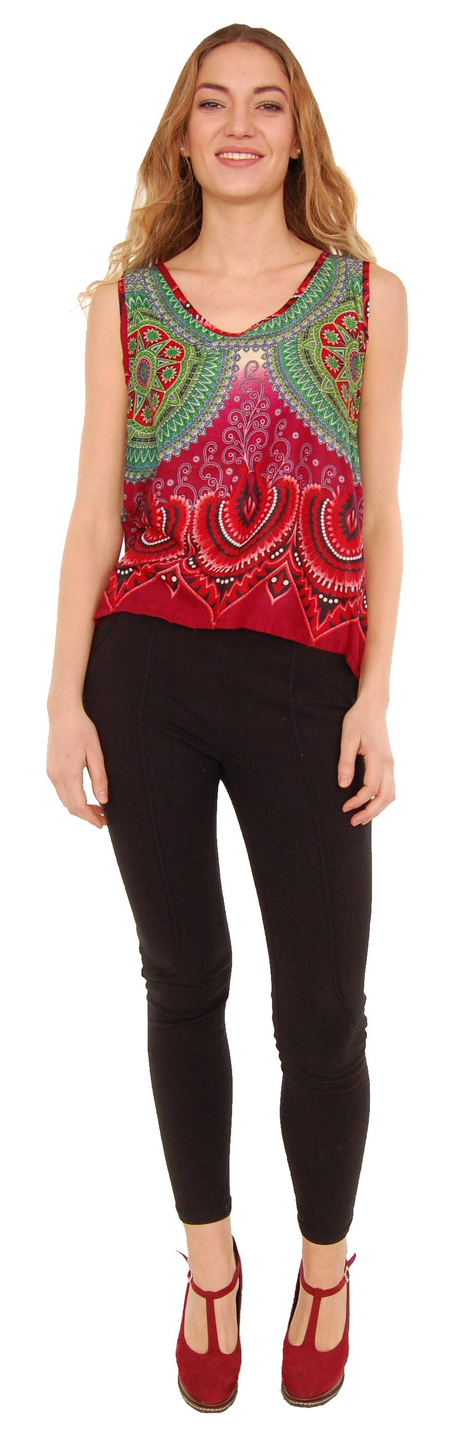 TOP MAGLINA FANTASIE AB-BCT06BE - Oriente Import S.r.l.