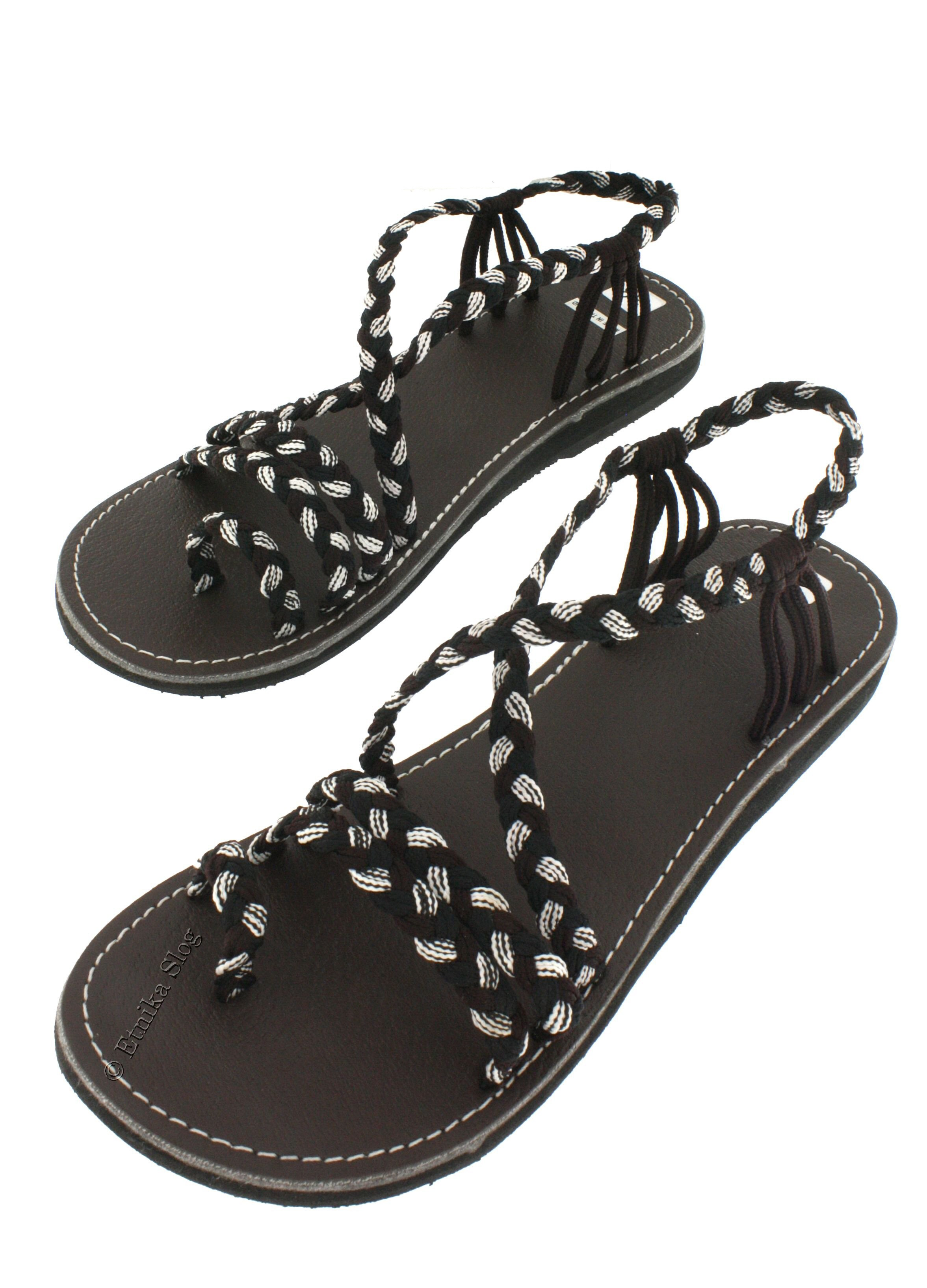 SANDALS IN LEATHER SN-AP05-BNM - Etnika Slog d.o.o.