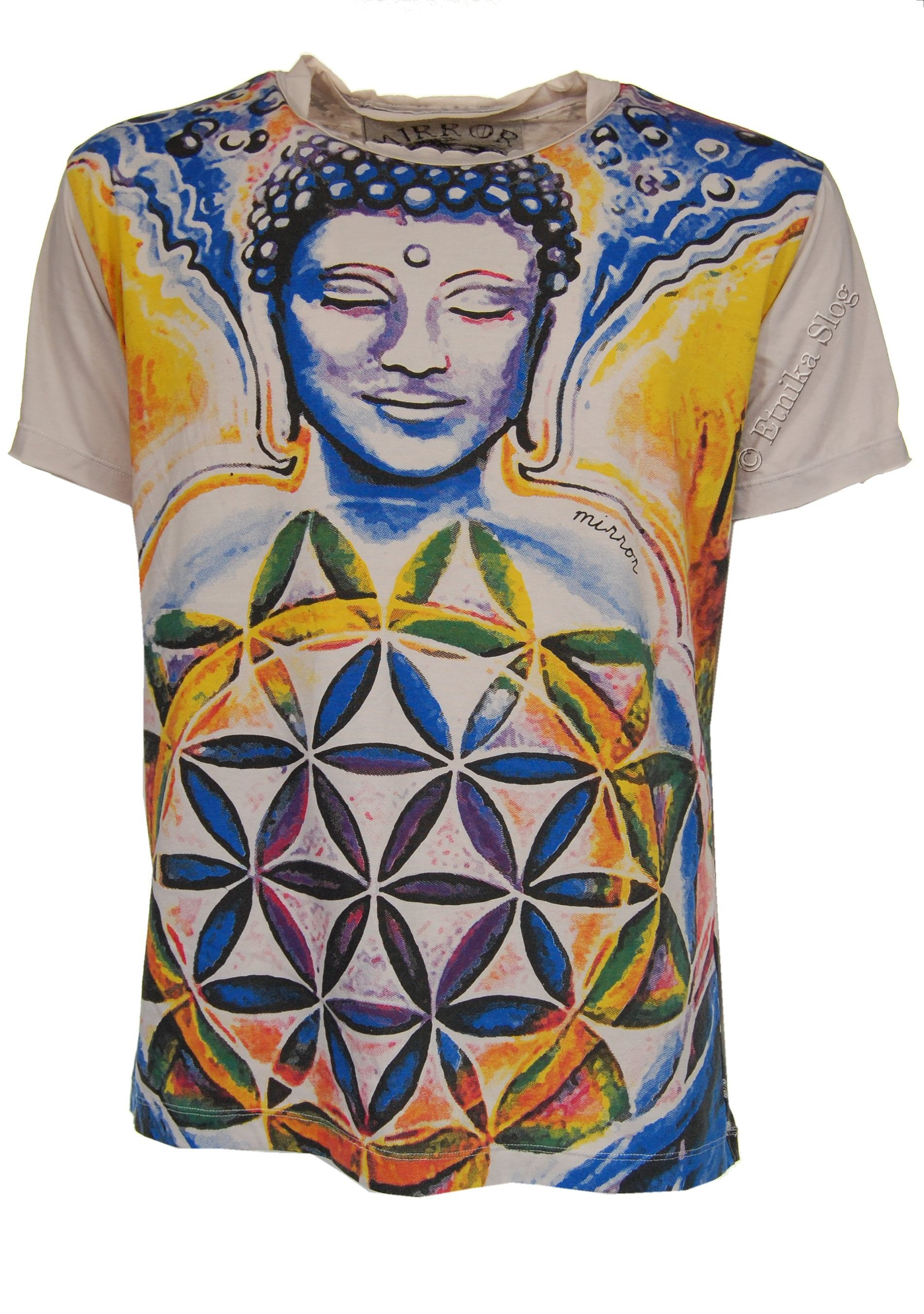 MEN'S COTTON T-SHIRT - MIRROR AB-THM07-37 - Oriente Import S.r.l.